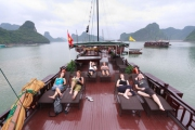 Romantic night on Galaxy Cruise-Biking to Viet Hai village (1 night on boat - 1 night in hotel - Code 001)